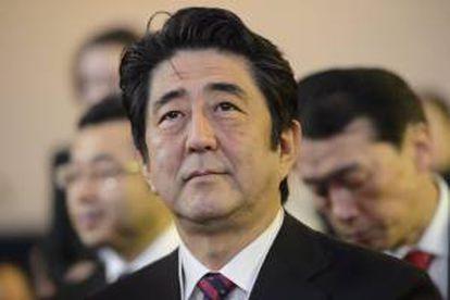 El primer ministro japonés, Shinzo Abe. EFE/Archivo