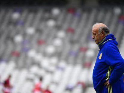 El técnico no elegirá entre el portero del United y Casillas hasta el debut de España frente a la República Checa de mañana