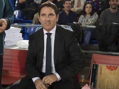 Xavi Pascual, entrenador del Zenit San Petersburgo.