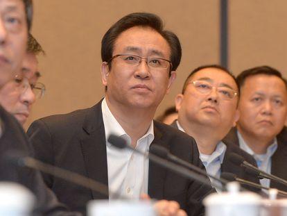 Xu Jiayin, en una foto de 2017 en la ciudad de Wuhan.