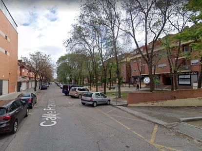 Vista de la calle Frascuelo de Velilla, donde se produjo la agresión.