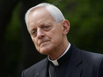 Donald Wuerl, el arzobispo de Washington que ha presentado su renuncia al Papa, en mayo de 2017 en la capital estadounidense.