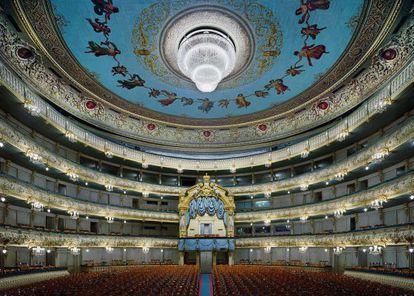 El teatro Mariinsky de San Petersburgo, actualmente gobernado por el férreo Valeri Gérgiev.