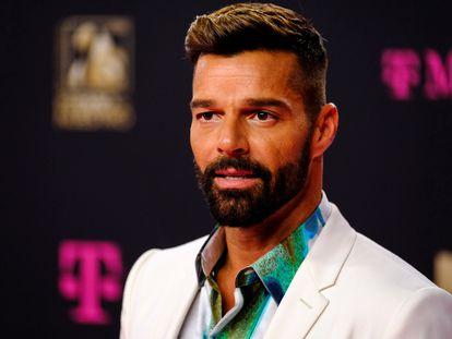 Ricky Martin, en los Premios Lo Nuestro en Miami el pasado febrero.