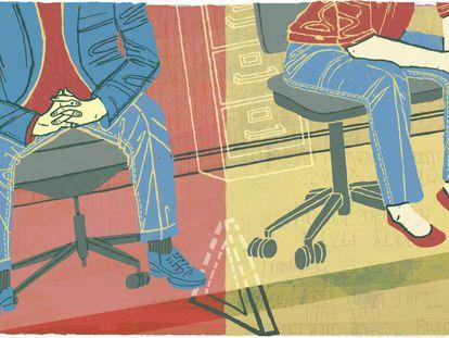 Ellas terminan haciendo las tareas ingratas de la oficina… y eso perjudica su carrera