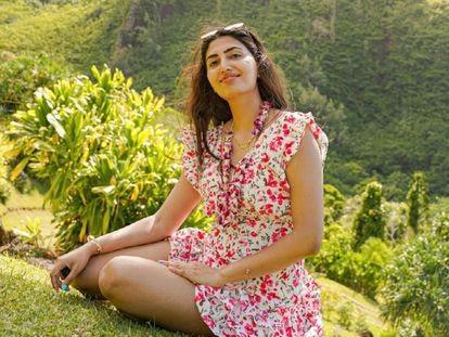 La joven india Anjali Ryot, asesinada este miércoles en Tulum.