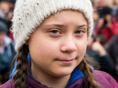 Greta Thunberg, el pasado marzo.