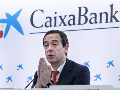 Gonzalo Gortázar, consejedo delegado de CaixaBank.