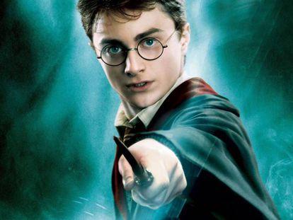 Imagen del Harry Potter cinematográfico al que encarnó Daniel Radcliffe.