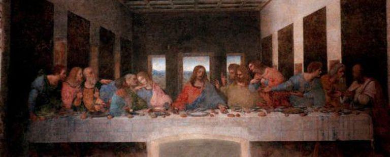 'La última cena', de Leonardo Da Vinci.