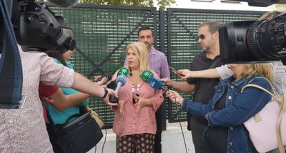 La alcaldesa de Jerez, Mamen Sánchez.
