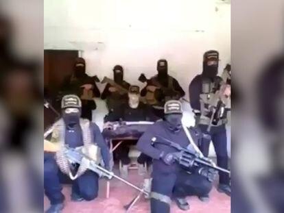 Fragmento del video en donde se amenaza a la periodista Azucena Uresti.