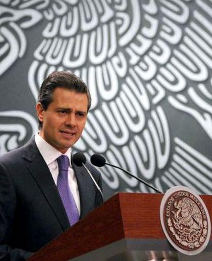 El presidente Enrique Peña Nieto.