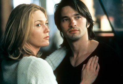 Diane Lane engaña a su marido (Richard Gere) con Olivier Martinez en la película 'Infiel' (2002).