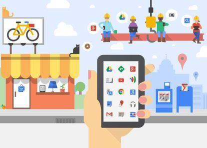 Ilustración de Alphabet: la empresa antes conocida como Google