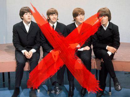 """""""Da la sensación de que ya no hay bandas; somos una especie en extinción"""", se quejaba recientemente Adam Levine, de Maroon5. Los de la foto no son Maroon5. Todo lo contrario, son los Beatles."""