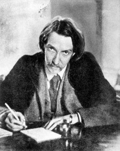 El escritor escocés Robert Louis Stevenson.