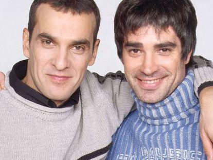 Luis Merlo en una imagen promocional de 'Aquí no hay quién viva'.