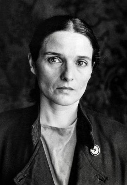Adelaida García Morales, retratada en 1990.