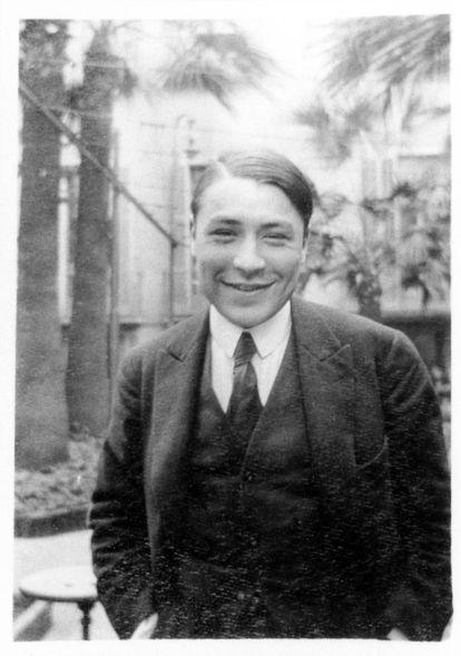 El escritor Josep Pla, de joven.