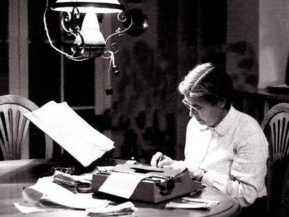 La filóloga María Moliner.