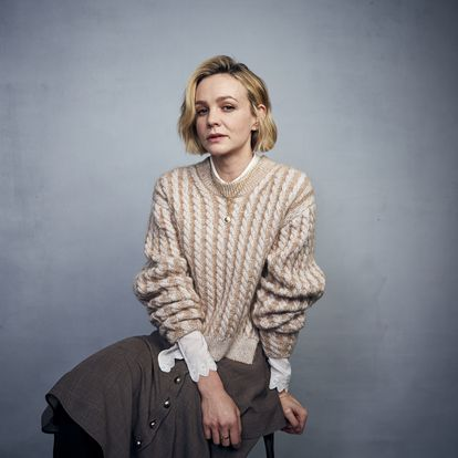 """Carey Mulligan poses for a portrait to promote the film """"Promising Young Woman"""" at the Music Lodge during the Sundance Film Festival on Saturday, Jan. 25, 2020, in Park City, Utah. (Photo by Taylor Jewell/Invision/AP)"""