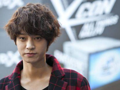Jung Joon-young, en agosto de 2014 en Los Ángeles (California).