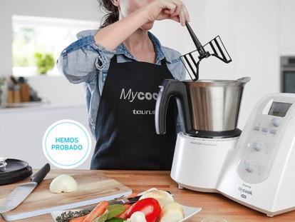 Probamos el robot de cocina Mycook One: ideal para cocinar a diario en espacios pequeños y ahora con un 42% de descuento