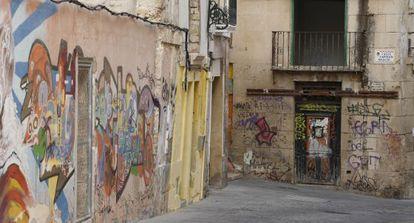 Casco histórico de Alicante.