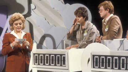 Mayra Gómez Kemp, en un programa de 'Un, dos, tres... responda otra vez' de 1987.