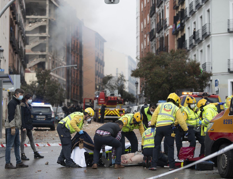 Explosión del edificio en la calle de Toledo, 98.