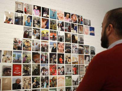 Imagen de la exposición 'Cuerpos en lucha', en Las Naves.