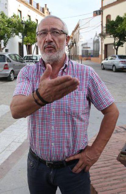 Agapito Ramírez, alcalde de Aznalcóllar.