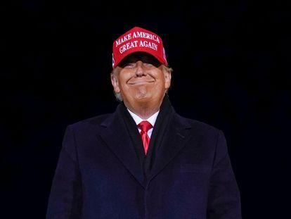 Trump durante la campaña de 2020.