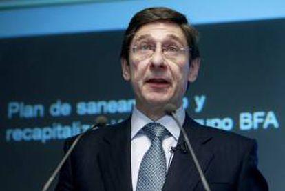 El presidente de Bankia, Jose Ignacio Goirigolzarri. EFE/Archivo