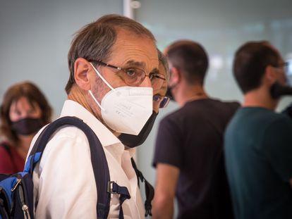 Jose Antonio Urrutikoetxea Bengoechea, Josu Ternera, durante su juicio en París esta semana