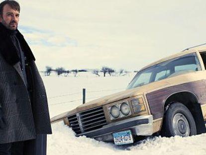 El actor estadounidense Billy Bob Thornton, en la serie 'Fargo'