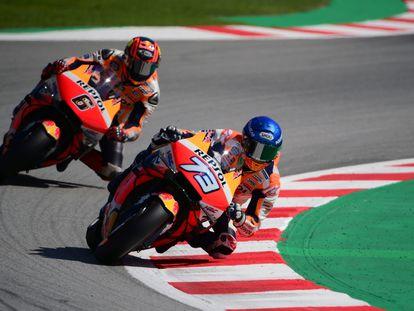 El GP de Cataluña de MotoGP se celebra este fin de semana en el circuit de Barcelona - Catalunya en Montmeló