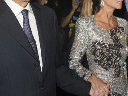 Mario Vargas Llosa e Isabel Preysler, en Nueva York.