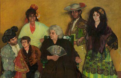 'La familia del torero gitano', de Zuloaga.