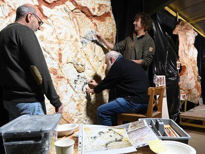 Pintar como en el Paleolítico