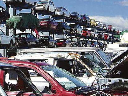 Centro autorizado de tratamiento y desguace de vehículos procedentes del plan PIVE en Madrid.