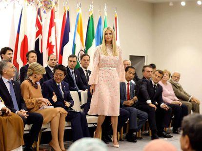 Ivanka Trump, el pasado sábado en el G20, en Osaka, Japón.