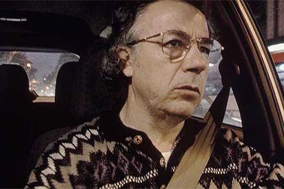 Pepe Rovira, en un fotograma de <i>El taxista ful.</i>