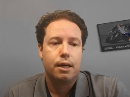 El expiloto Jorge Lis, en un fotograma de un vídeo de 2019.