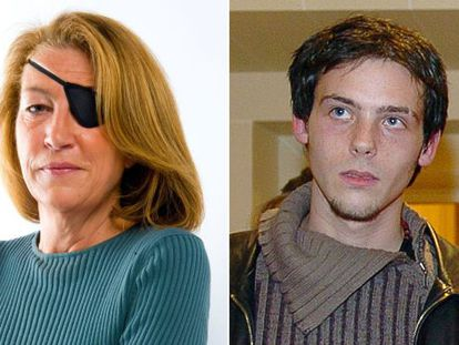 Los periodistas Marie Colvin y Remi Ochlik.