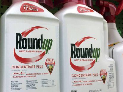 El pesticida RoundUp de Monsanto.