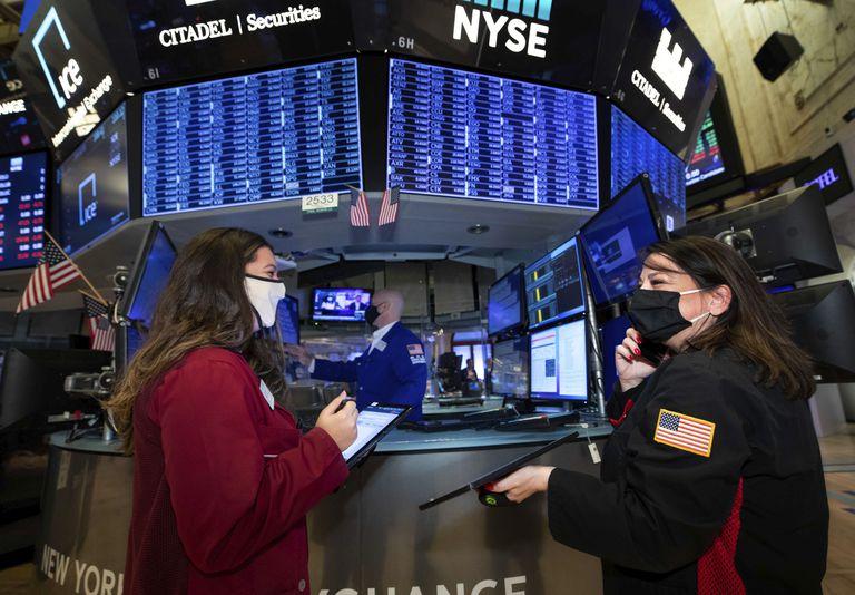 Operadores de la Bolsa de Nueva York el pasado 14 de diciembre