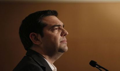 El primer ministro griego, Alexis Tsipras, el 15 de mayo en Atenas.