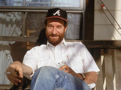 El escritor Larry Brown.